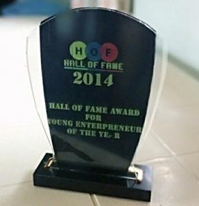 Hall Of Fame Award--2014